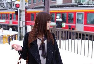ハニーラインで出会った看護師の穂奈美ちゃんと雪国温泉旅行